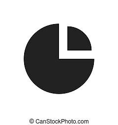 grafico, analisi, icona