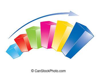 grafico, colorito