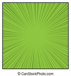 grafico, comics, linee, effects., colorare, vettore, radiale, velocità