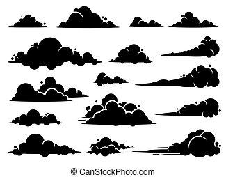 grafico, design., vettore, nuvola