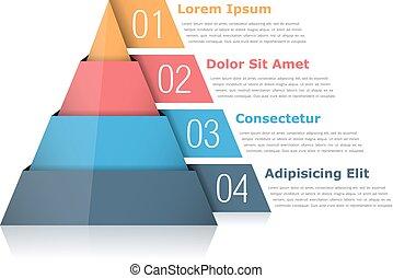 grafico, piramide