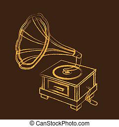 grammofono, grunge