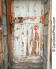 granaio, vecchio, porta