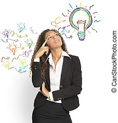 grande, creare, idea