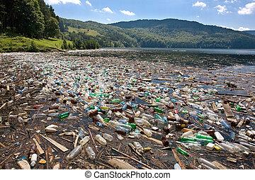 grande, plastica, inquinamento