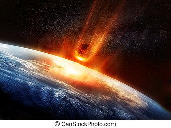 grande, terra, meteora