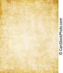 grande, vecchio, struttura, carta, fondo, pergamena