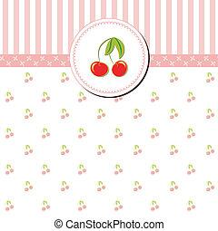 gretting, ciliegia, colorito, scheda