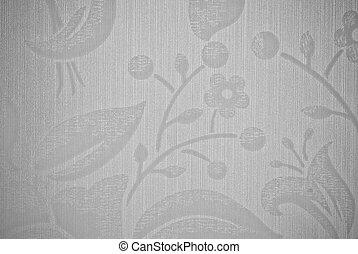 grigio, fiore, astratto, struttura, fondo, o