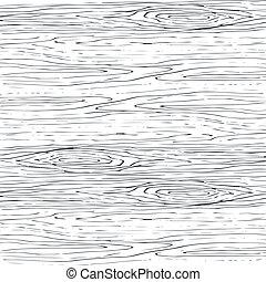 grigio, legno, legno, pattern., seamless, struttura, fondo., vettore, grano