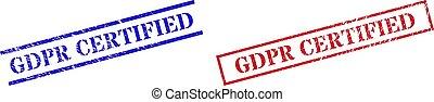 grunge, gomma, rettangolo, francobollo, gdpr, cornice, certificato, sigilli