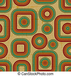 grunge, pattern., retro, seamless