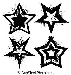 grunge, set, stella