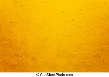 grunge, struttura, fondo, parete, giallo