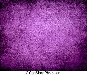 grunge, viola, astratto, struttura, carta, fondo, o