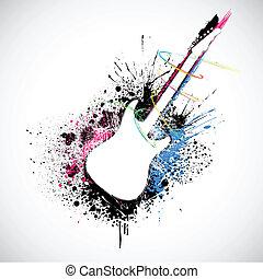 grungy, chitarra