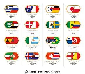 gruppi, terzo, torneo, venues, volte, calcio-via, giochi, russia., calcio