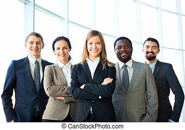 gruppo, affari