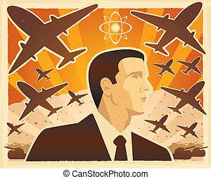 guerra, illustrazione