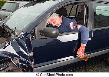 guida, ubriaco