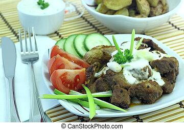 gyros, specialità, greco