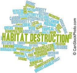 habitat, distruzione