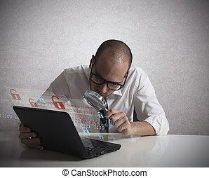 hacker, analizzare, software