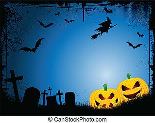 halloween, fondo
