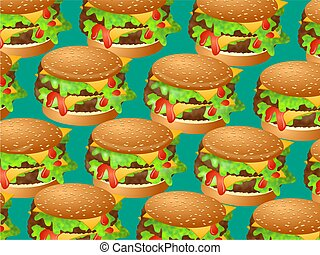 hamburger, carta da parati