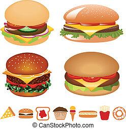 hamburger, collezione