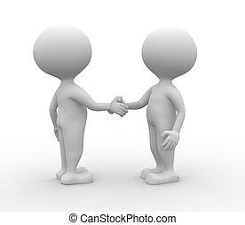 handshake., -, associazione