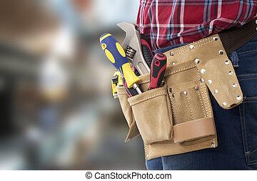 hardware, montaggio, riparazioni, cintura