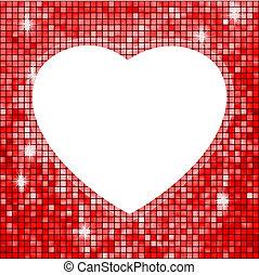 heart., eps, forma, 8, fama, rosso