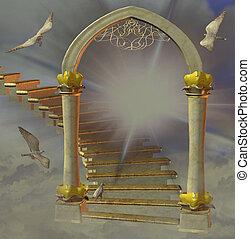 heaven's, cancello