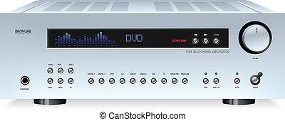 hi-fi, suono, stereo, audio, ricevitore
