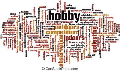 hobby, parola, nuvola