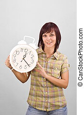 holding donna, orologio