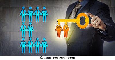 hr, lavoro, direttore, potenziale, squadra, sbloccando