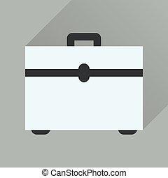 icona, caso, lungo, affari, uggia, appartamento