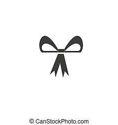 icona, colpi, illustrazione, arco, linea, segno, editable, vettore, fondo