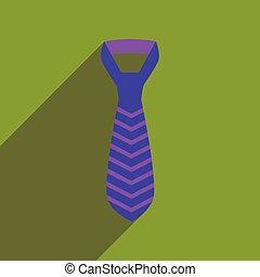 icona, cravatta, uggia, appartamento, lungo