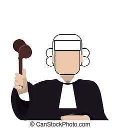 icona, giudice corte