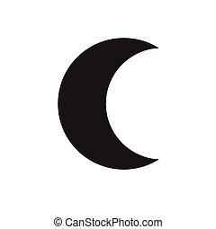 icona, luna, mezzaluna