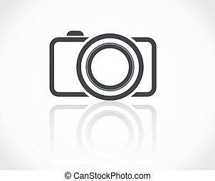 icona, macchina fotografica