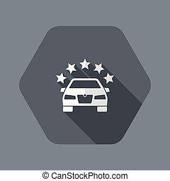 icona, premio, simbolo, automobilistico