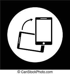 icona telefono, mobile