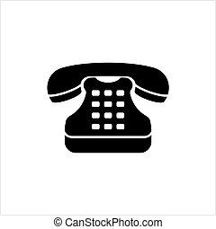 icona, telefono, telefono