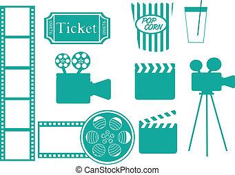 icone, cinema