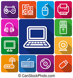 icone, computer