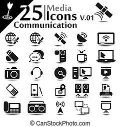 icone, comunicazione, v.01